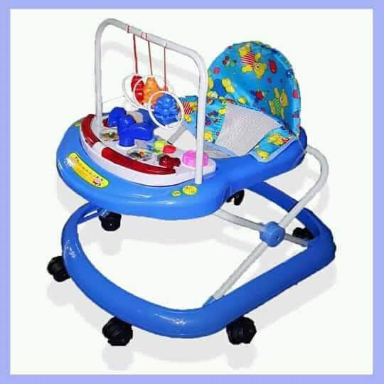 Baby Walker With Music-Blue
