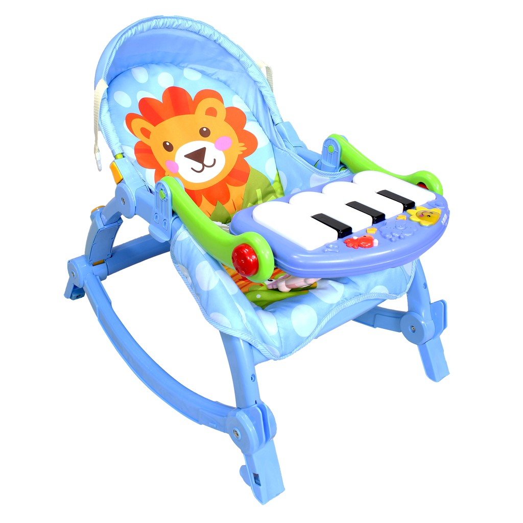 Baby Rocker With Musical Piano