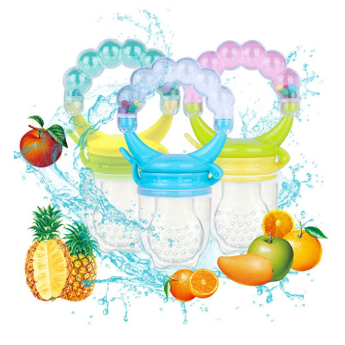 Baby Silicone & Non-toxic Food Supplement Fruit Feeder