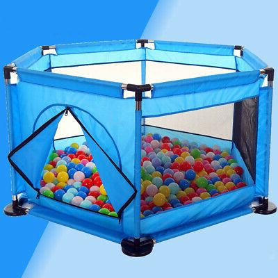 Portable Baby Kid Play Pen Play Yard