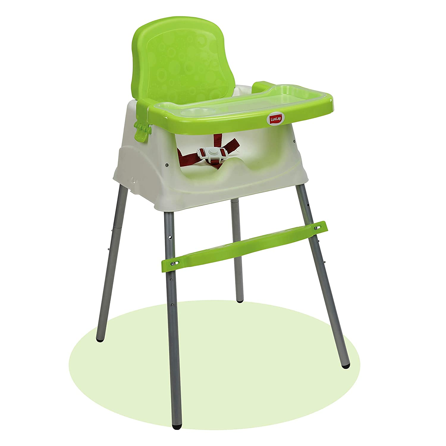 3 In 1 Feeding High Chair Table With Removable Foot