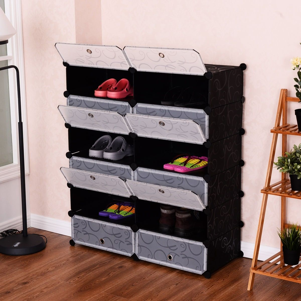 Baby Cabinet Portable Foldable Rack