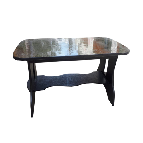 Rectangle Black Tea Table
