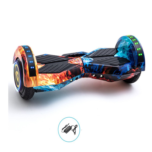 8 Inch Two-Wheel Self Balancing Hoverboards - LED Light Wheel Scooter