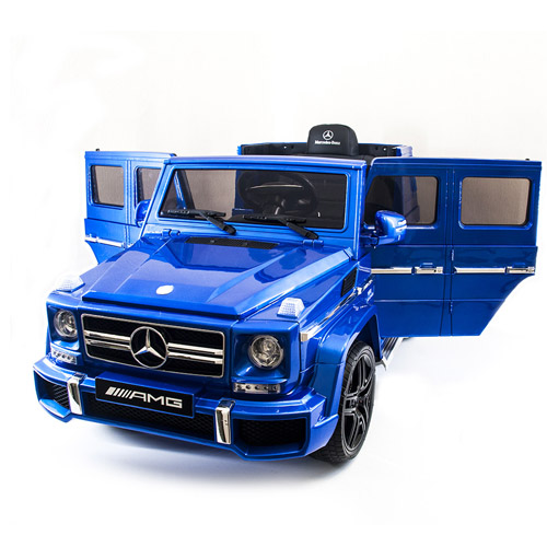 Electric Ride On Mercedes-Blue