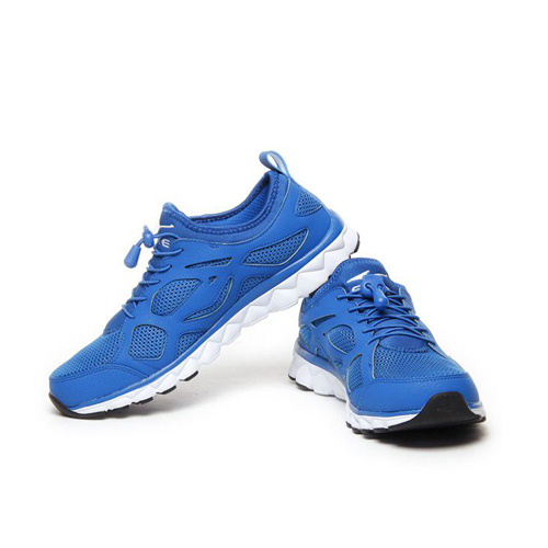 Erke Sober Blue Running Shoes