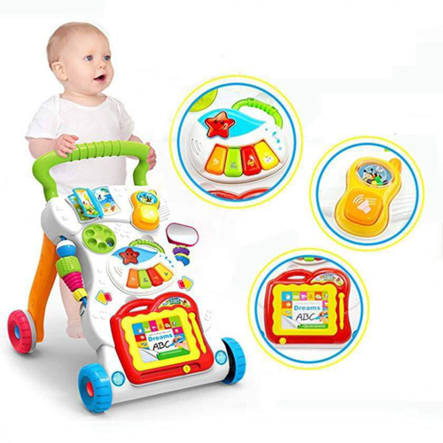 Baby Walker With Musical Push Car