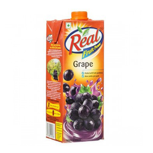 Real Fruit Grape 1 Ltr