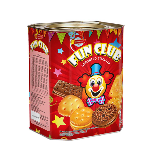 Shoon Fatt Fun Club Assorted Biscuit, 600gm