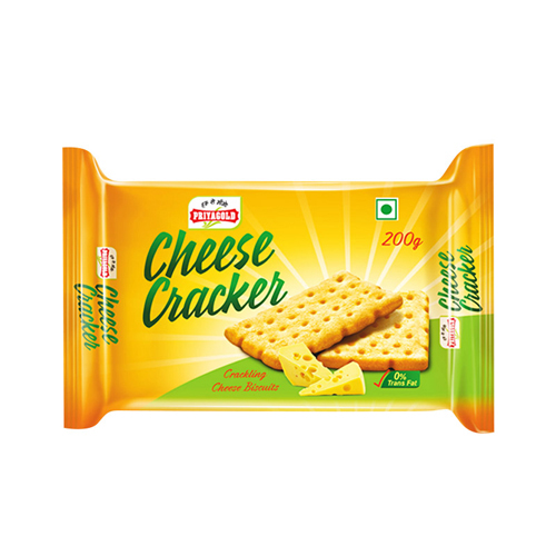 Priyagold Cheese Cracker Biscuit, 160gm
