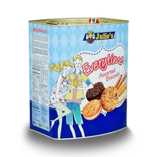 Julie's Everytime Assorted Biscuit, 530gm