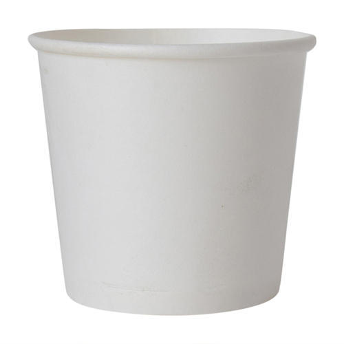 Disposable Plain Tea Paper Cup 130 ml 1 roll