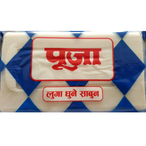 Puja White Soap  Set 3pcs