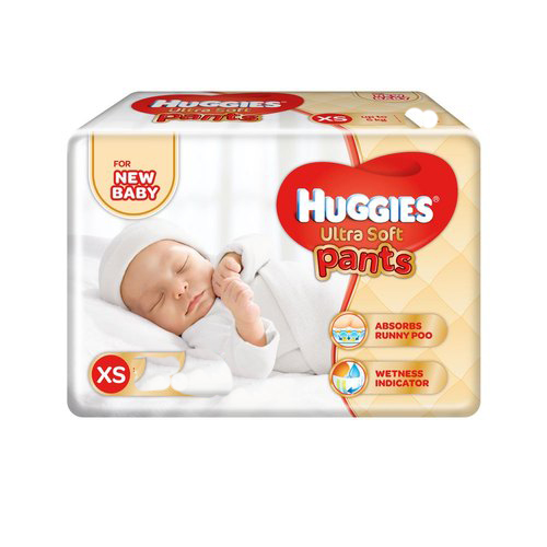 Huggies New Born Pants XS (upto 5 kg) 20 pants