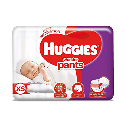 Huggies Wonder Pants Small (4-8 kg) 42 pants