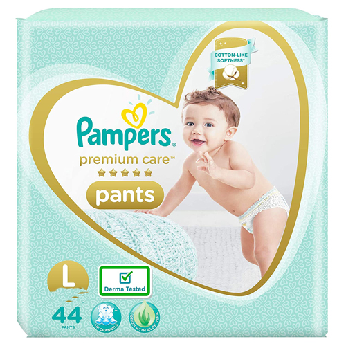 Pampers New Diapers Pants Monthly Pack