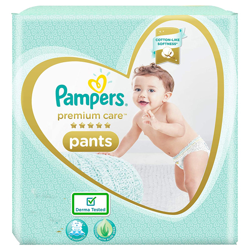 Pampers Premium Care Diapers Pants, Medium