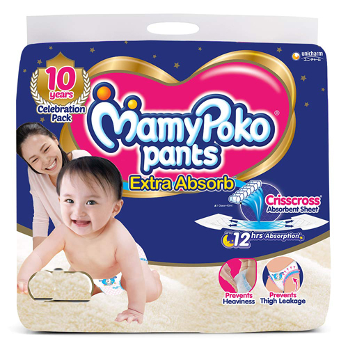Mamy Poko Pants Diaper, Large