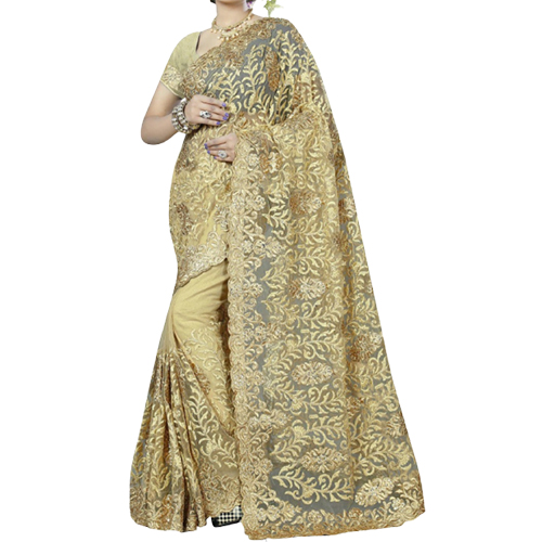 Womens Net Saree