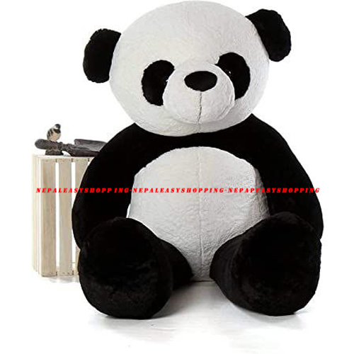 Teddy Black& White Colored Cotton Fabric Bear Stuffed Animal Gifts