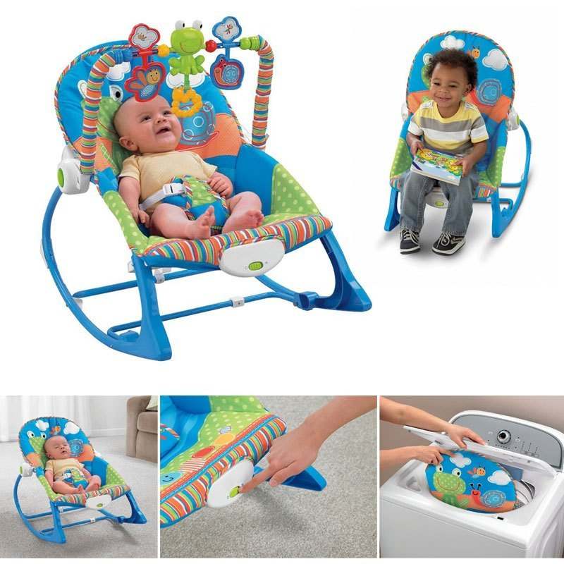 Baby Infant-To-Toddler Rocker-Blue