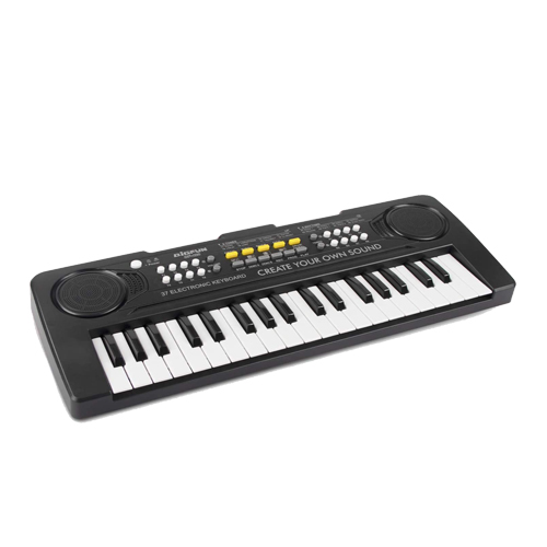 Kids Piano Toy Keyboard with Mike Aux USB Birthday 1 2 3 4 Years Old Kids 24 Keys Multifunctional Toy Piano