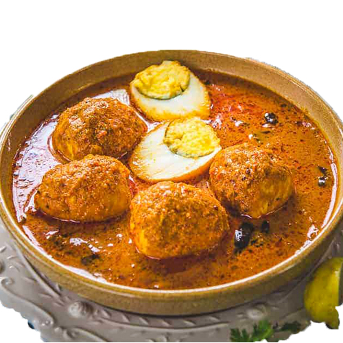 Egg Curry (Serve with 3 pcs of roti)