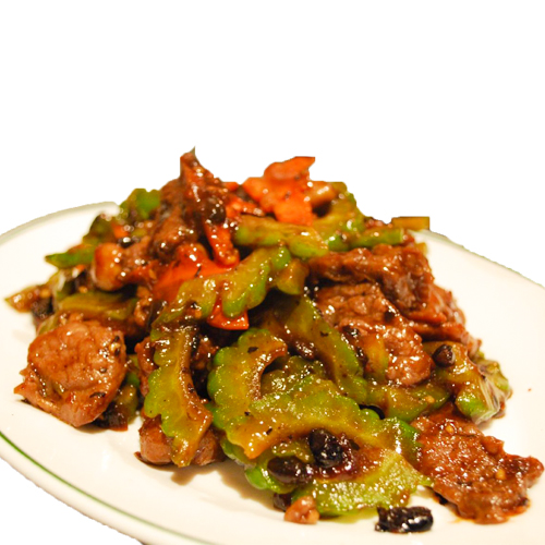 Beef in Black Bean Sauce (Serve with plain rice)