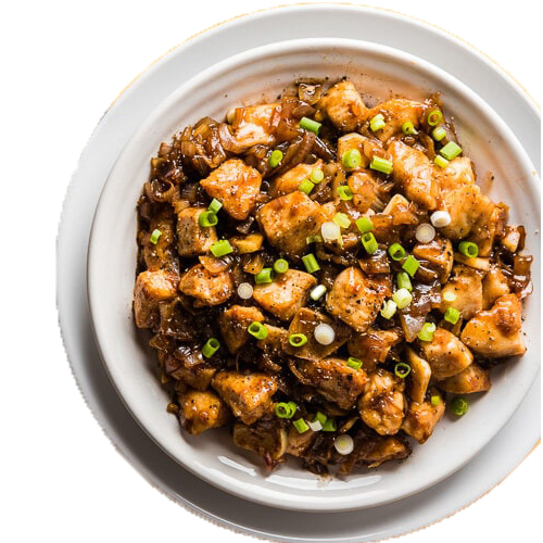 Chicken ginger Black Bean Sauce (Serve with plain rice)