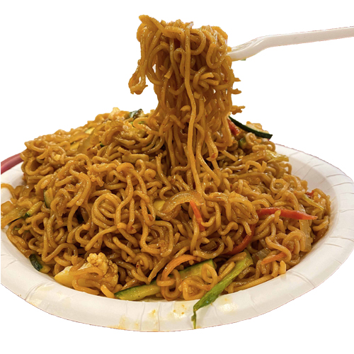 Chicken Keema Noodles