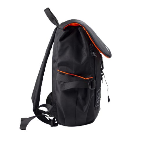 Stylish MultiPurpose Space Black Dhampus Backpack 13L