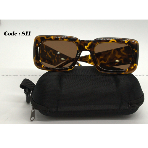 Leopard Print Women's Sunglasses
