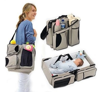 Multipurpose Baby Diaper Bag