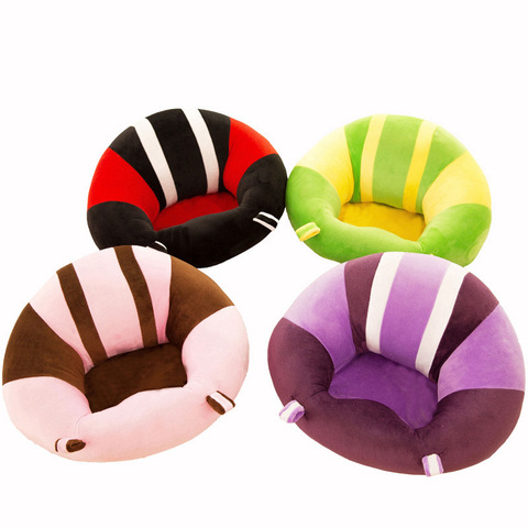 Baby Support Seat Sofa Plush Soft Animal Shaped