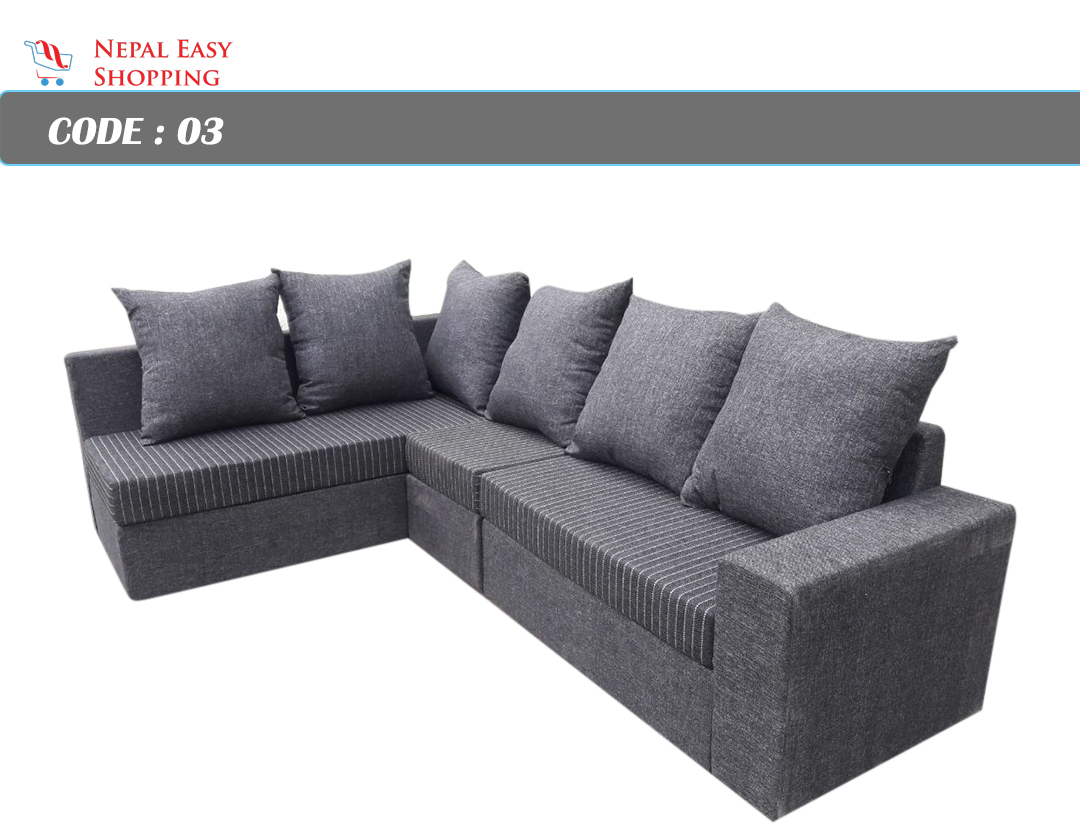L Shape Sofa 6 Seater