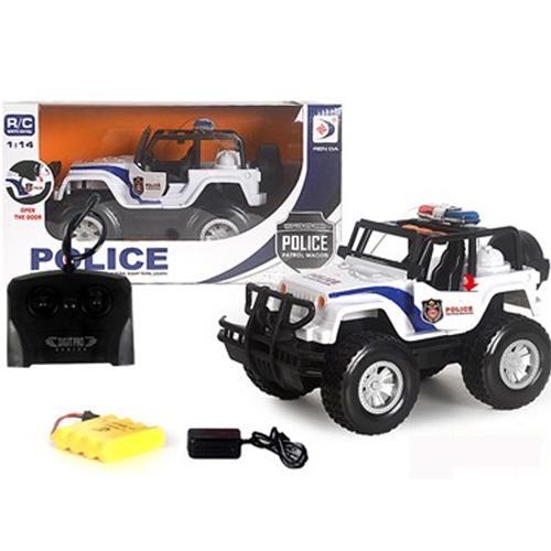 Remote Control Police Jeep