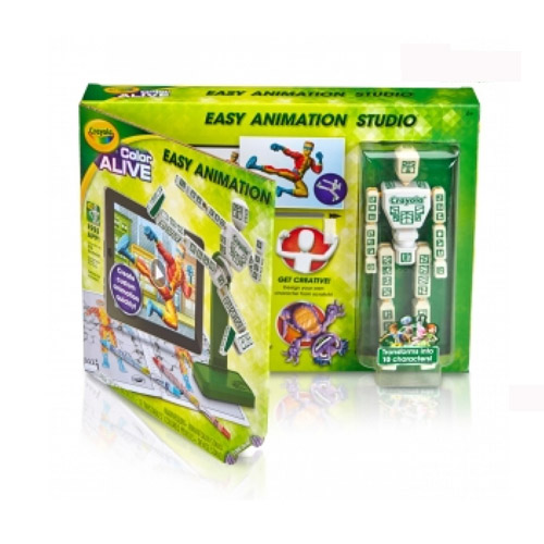 Crayola Color Alive Easy Animation Studio Toy Game