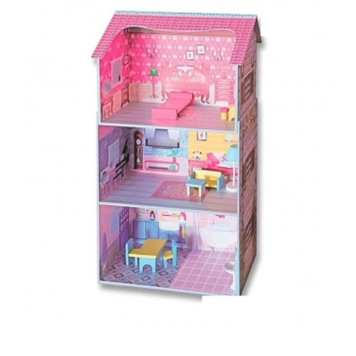 Wooden Doll House 1093