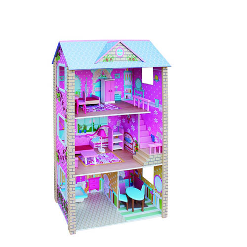 Wooden Doll House 1061