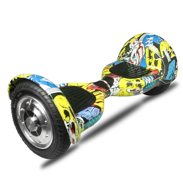 10 Inch Two-Wheel Self Balancing Hoverboards - LED Light Wheel Scooter