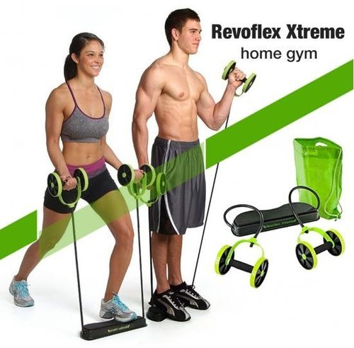 Revoflex Xtreme Workout Abs Fitness Machine, Revoflex Ab Roller Wheel, Ab Roller