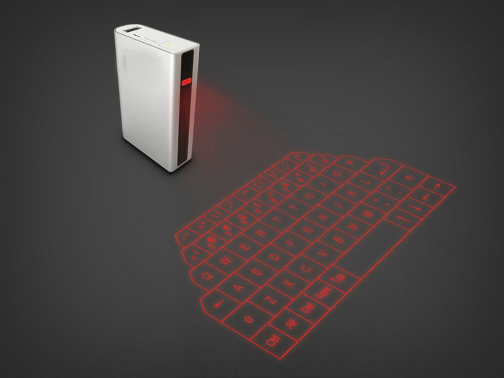 Laser Keyboard, Virtual Wireless Bluetooth Portable Projection Keyboard for Smart Phone PC Tablet Laptop