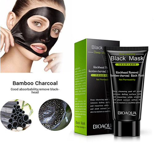 Bamboo Charcoal Black Mask
