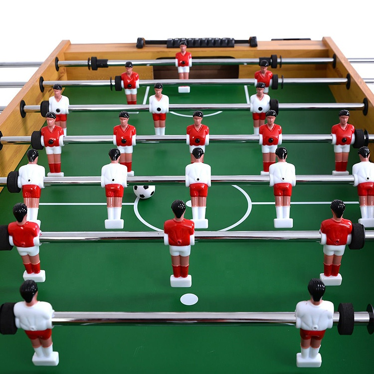 Foosball Soccer Table 22 solid Characters + 2 Balls Game Room Hockey Family Sport