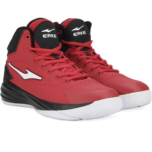 Erke Men's PU Basketball Shoes