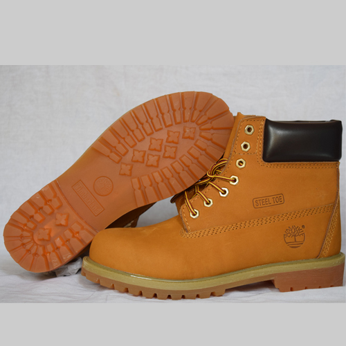 Timberland  Orange Yellow  Men's 6-Inch Premium Waterproof Boots