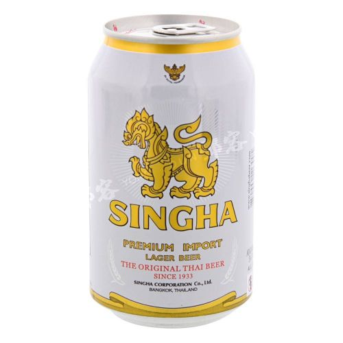 Singha Can Beer - 330Ml