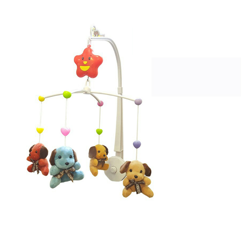 Happy Bed Bell Sleep Time Musical Toys