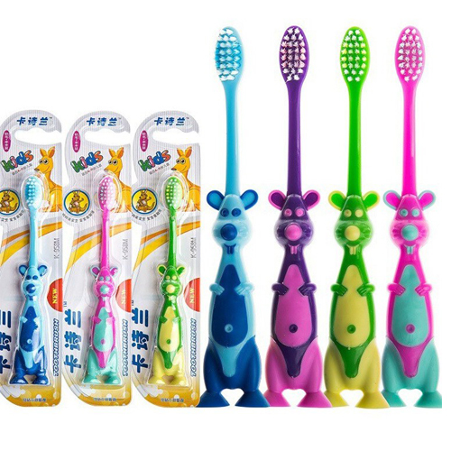 Baby Cartoon Soft Bristle Toothbrush Babies Infant Training