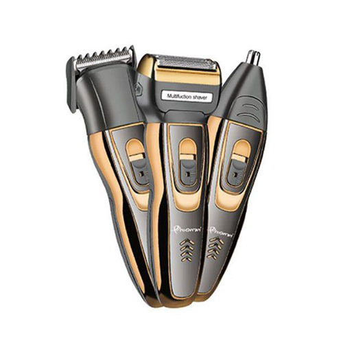 Pro Gemei GM-595 3 In 1 Hair Clipper, Shaver & Nose Hair Trimmer